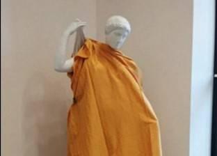 جامعة روسية تغطى التماثيل العارية تجنباً لإحراج الكهنة