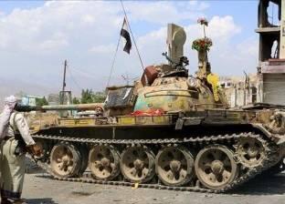 """""""الجيش اليمني"""" يقتحم البوابة الغربية لمعسكر """"خالد بن الوليد"""" في تعز"""