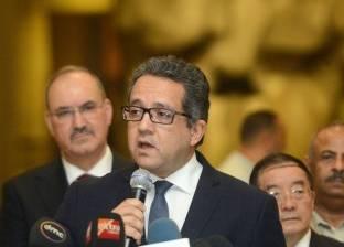 """وزير الآثار يعلن اكتشاف مقبرتين وانتهاء ترميم """"قدس الأقداس"""" في الأقصر"""
