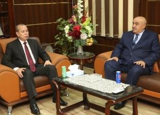 بالصور.. محافظ كفر الشيخ يهنئ مدير الأمن الجديد