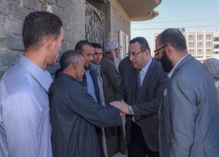 """محافظ الإسكندرية يقدم العزاء لأسرة شهيد القوات المسلحة """"محمد رمضان"""""""