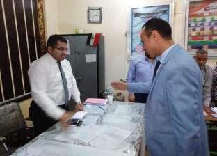 """وكيل """"الصحة"""" بسوهاج يحث العاملين على المشاركة في التصويت"""