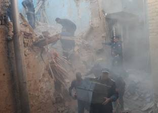 انهيار جدار منزل بالشرقية دون خسائر بشرية