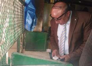 ضبط 10 أطنان سلع غذائية فاسدة في أسواق الإسكندرية
