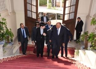 بالصور  سامح شكري يعقد مباحثات ثنائية مع وزيرة خارجية النرويج