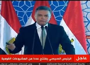 """وزير النقل لـ""""السيسي"""": """"المصريين هيشوفوا سكة حديد مختلفة في 2019"""""""