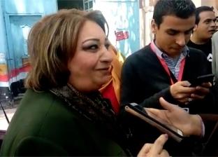 """فاروق جويدة وتهاني الجبالي يدليان بصوتيهما في """"قصر الدوبارة"""""""