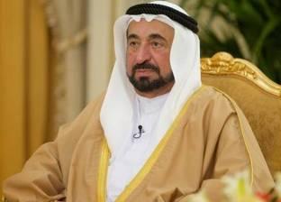 حاكم الشارقة يلتقي وفدا من شعراء المملكة المغربية في مكتبه