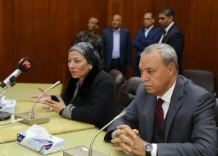 """ وزيرة البيئة تناقش مخرجات مخطط إدارة """"المخلفات الصلبة"""" في قنا"""