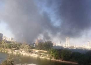 استعجال تحريات المباحث في حريق نادي الجزيرة