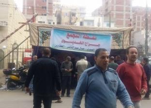 """توافد المواطنين على """"اعرف لجنتك"""" بمنطقة العطارين وسط الإسكندرية"""