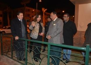 محافظ دمياط تتفقد أعمال تطوير ورفع كفاءة شارع 77 بمدينة رأس البر