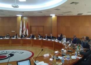 وفد من الجامعات البريطانية يزور مقر جامعة الإسكندرية