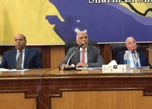 """""""تنفيذي جنوب سيناء"""" يبدأ جلسته بتهنئة المواطنين بأعياد تحرير سيناء"""