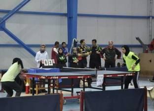 بعثة المنتخب الوطني لتنس الطاولة تغادر إلى نيجيريا