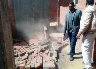 إزالة 20 مبنى مخالفا في حي شرق سوهاج