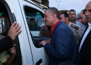 محافظ كفر الشيخ خلال جولة على محطات الوقود: الإصلاحات أنقذت مصر