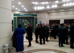 """ورود وأغاني وطنية في استقبال الوافدين لاحتفالية """"الوفد"""" بمئوية ثورة 19"""
