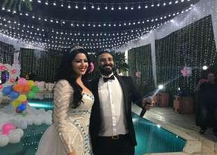بالفيديو  ريم البارودي تعلق على صور حفل زفاف أحمد سعد وسمية الخشاب
