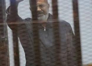 """تأجيل إعادة محاكمة مرسي ومتهمي """"التخابر مع حماس"""" لـ3 أكتوبر"""