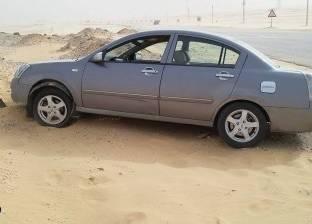 إصابة شخصين في حادث تصادم سيارتين بالوادي الجديد