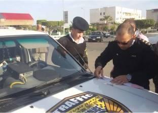 تكثيف الحملات المرورية لمنع التكدس خلال مؤتمر القمة العربية الأوروبية