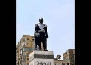 محافظ الإسماعيلية: تمثال الخديو إسماعيل غير أثري..ونعمل على تصحيح صورته