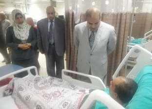 رئيس جامعة الأزهر يطمئن على الخدمة الطبية المقدمة بمستشفى الزهراء