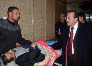 رئيس جامعة طنطا يتفقد مستشفيات الجامعة وتقديم الخدمة الطبية للمرضى