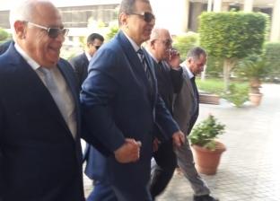 """""""سعفان"""" يزور بورسعيد لحضور مؤتمر السلامة والصحة المهنية"""
