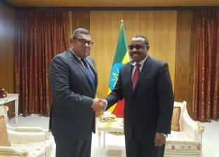 """""""ديسالين"""" لسفير مصر: نؤكد ضرورة تحويل النوايا الحسنة لنتائج ملموسة"""