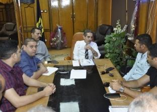 رئيس جامعة قناة السويس يوجه بسرعة عمل بطاقة ذكية لكل طالب