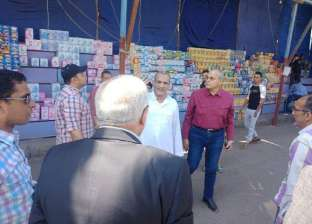 """""""راشد"""" يقود حملة لإزالة التعديات.. ويوقف مدير إشغالات شمال الجيزة"""