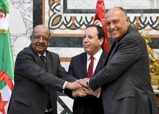 الاجتماع الثلاثي حول ليبيا يجدد دعم مصر والجزائر وتونس لاتفاق الصخيرات