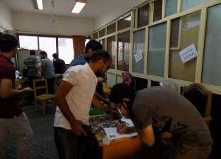 إقبال متوسط على انتخابات رؤساء ونواب اتحادات الطلاب بجامعة الفيوم