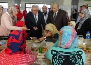 رئيس جامعة المنيا: حجز مواعيد الأطعمة للطلاب أسبوعيًا بدلا من شهريًا