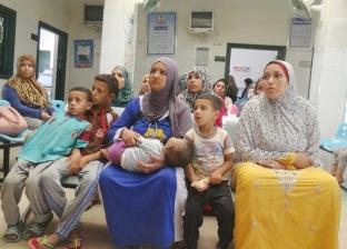 جامعة المنيا تطلق قوافل تثقيفية لأهالي قرية الجزائر بسمالوط