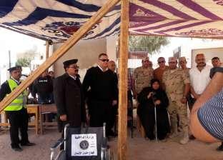 والدة شهيد بالعملية الشاملة تدلي بصوتها في طور سيناء