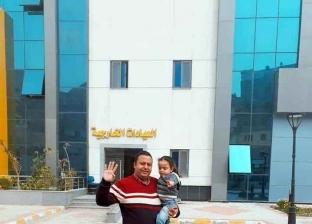 خروج 6 حالات جدد من الحجر الصحي في الإسكندرية بينهم والد وطفلته