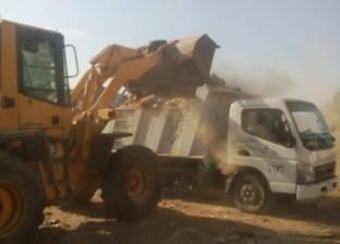 بالصور| السكرتير العام المساعد بدمياط يقود حملة نظافة بمركز الزرقا