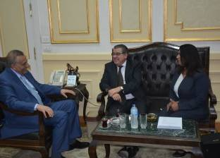 """محافظ الجيزة يبحث توقيع اتفاقية توأمة مع """"فلوريدا"""" في أوروجواي"""