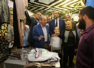 """بتخفضيات تصل لـ30%.. افتتاح معرض """"أهلا مدارس"""" بكفر الشيخ"""