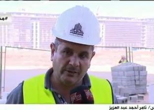 """مسؤول السلامة بالحي الحكومي في """"العاصمة الإدارية"""": صحة العامل أولوية"""