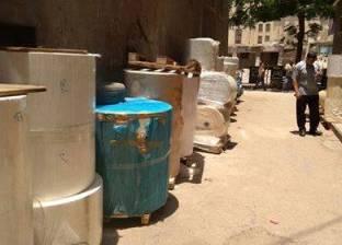 رئيس حي باب الشعرية يشهد إزالة الإشغالات ويتفقد عددا من المدارس