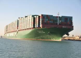عبور 48 سفينة بحمولة3.1 مليون طن سفن بمجرى قناة السويس