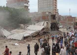 تنفيذ حملات لإزالة العقارات المخالفة بحي المنتزه أول في الإسكندرية