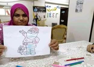 """طردها زوجها فاكتشفت موهبتها في دار إيواء: """"مها"""" رسامة مش مشردة"""