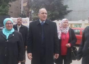 """مدير """"تعليم القاهرة"""" يفتتح معرض المدرسة المنتجة"""