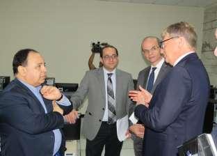 وزير المالية يفتتح مركزا للتدريب بأحدث التقنيات الفنية والتكنولوجية