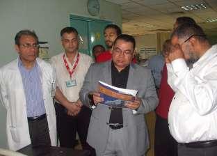 """وكيل """"صحة الشرقية"""" يتفقد مستشفى الأحرار بعد شكاوى المرضى من سوء الخدمة"""